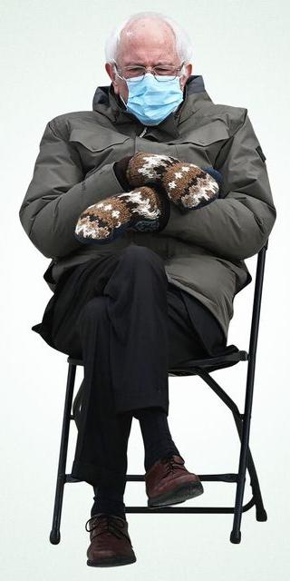 Bernie Sanders Chair Blank Template Imgflip