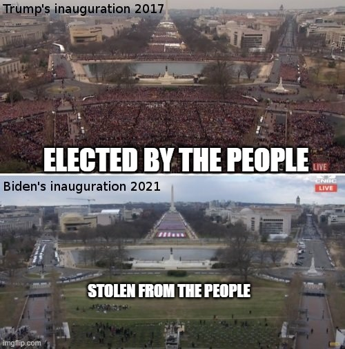 Trump vs Biden! |  ELECTED BY THE PEOPLE; STOLEN FROM THE PEOPLE | image tagged in president trump,stolen election,impeach biden,resist | made w/ Imgflip meme maker