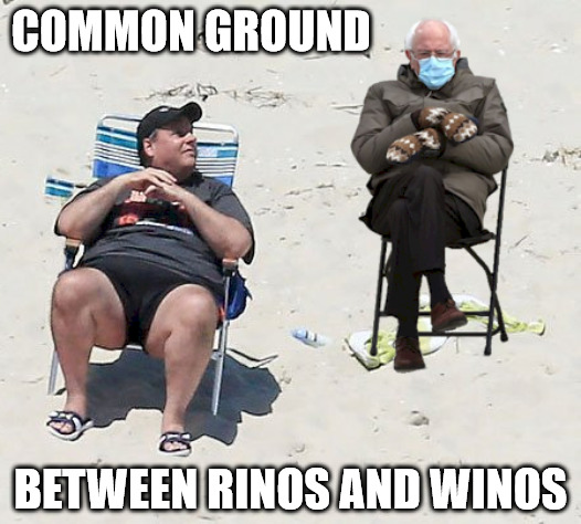 Common Ground Between Rinos And Winos Imgflip