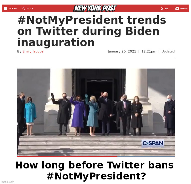 #NotMyPresident Trends On Twitter During Biden Inauguration | image tagged in joe biden,hunter biden,made in china,corruption,twitter,notmypresident | made w/ Imgflip meme maker