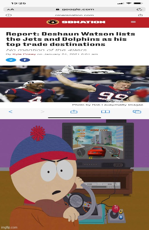 pls don't do it Watson | image tagged in stan marsh | made w/ Imgflip meme maker