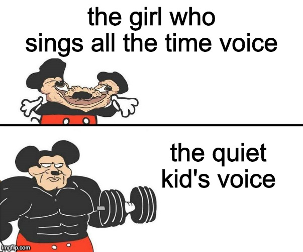 "and then you go up to them and they're like ""oh thanks but I'm really not that good"" 