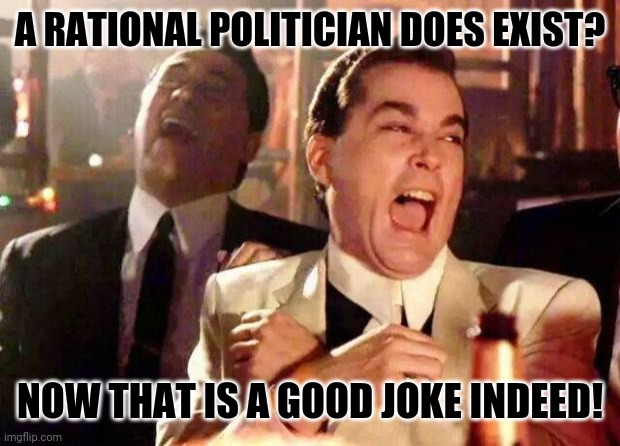 Religion of Peace |  A RATIONAL POLITICIAN DOES EXIST? NOW THAT IS A GOOD JOKE INDEED! | image tagged in memes,inspirational,politics suck | made w/ Imgflip meme maker
