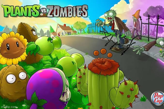 This game was My favorite | image tagged in plants vs zombies | made w/ Imgflip meme maker