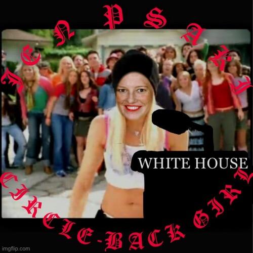Jen Psaki The Circle Back Girl Imgflip