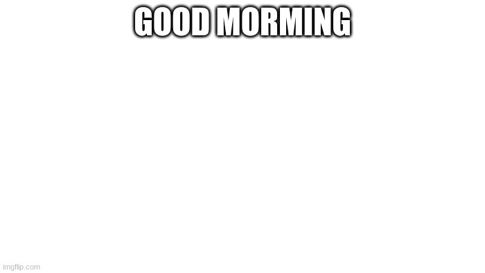 TRANSPARENT |  GOOD MORMING | image tagged in transparent | made w/ Imgflip meme maker