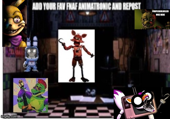 PURPLEGIRLKILLER WUZ HERE | image tagged in oh wow are you actually reading these tags,stop reading these tags,stop it,oh well | made w/ Imgflip meme maker