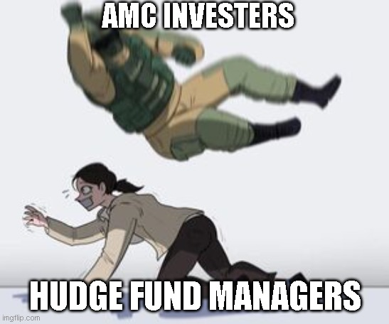 Normal conversation |  AMC INVESTERS; HUDGE FUND MANAGERS | image tagged in normal conversation | made w/ Imgflip meme maker