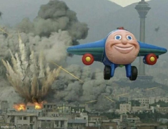 Plane flying from explosions | image tagged in plane flying from explosions | made w/ Imgflip meme maker