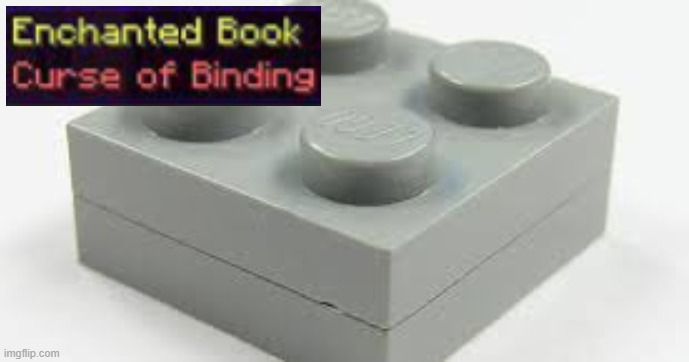 Curse Of Binding | image tagged in lego,evil,satanic,curse | made w/ Imgflip meme maker