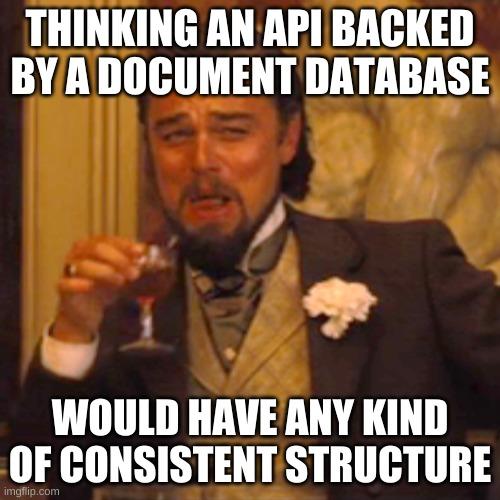 Registry API are inconsistent meme