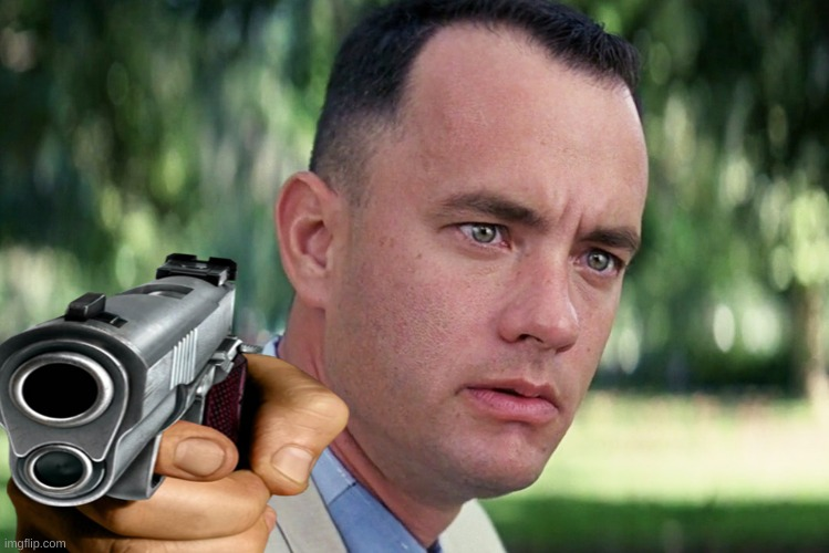 im forest gump | image tagged in forest gump | made w/ Imgflip meme maker