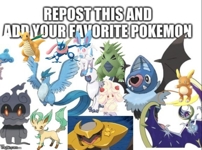 pokemon repost | image tagged in pokemon,repost | made w/ Imgflip meme maker