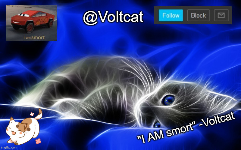 "This is bad and I'm sorry |  @Voltcat; ""I AM smort"" -Voltcat 