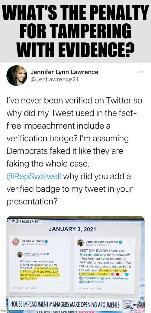 Eric-Fang-Fang-Bang-Bang-Swalwell tampering with evidence |  WHAT'S THE PENALTY FOR TAMPERING WITH EVIDENCE? | image tagged in eric swalwell,evidence,tampering,manipulation,lies,trump impeachment | made w/ Imgflip meme maker