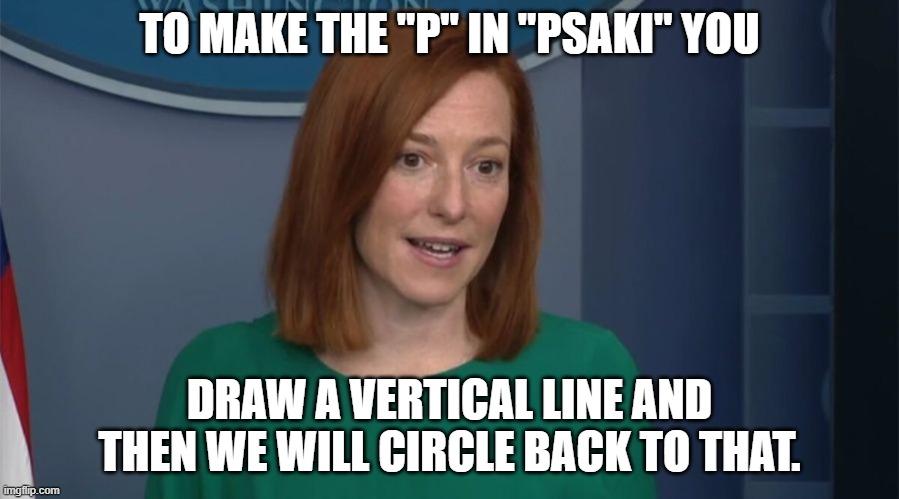 Politics Circle Back Psaki Memes Gifs Imgflip