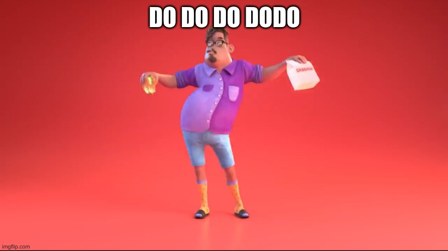 Guy from GrubHub ad | DO DO DO DODO | image tagged in guy from grubhub ad | made w/ Imgflip meme maker