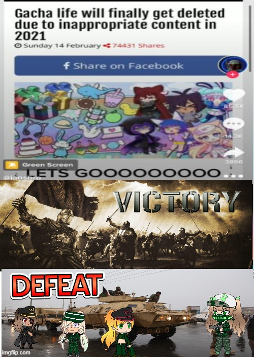 WE WON BROTHERS!!!!!!! THE WAR IS OVER | image tagged in crusader,victory,gacha life,knights templar,war | made w/ Imgflip meme maker