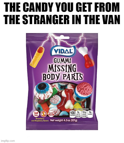 """Now with human flavor!"" 