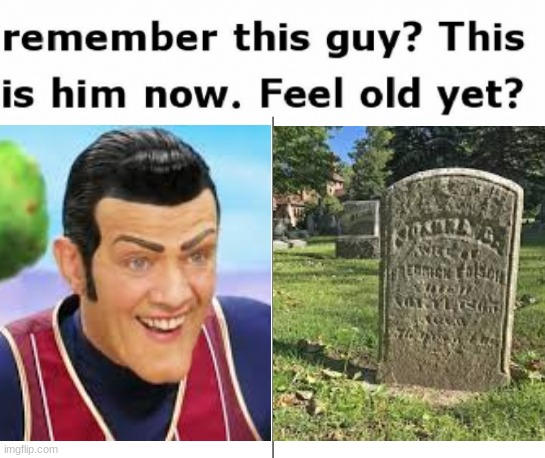 Seriously, bois, f in the chat. Stefán Karl Stefánsson died in August 21, 2018 because of cancer | image tagged in robbie rotten,f in the chat,please pay respect,rip | made w/ Imgflip meme maker