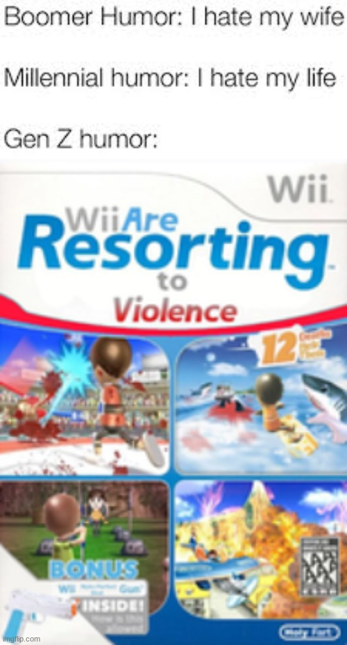look just give us the wii-d. | image tagged in wii are resorting to violence,memes,funny,oh wow are you actually reading these tags,wii,rickroll | made w/ Imgflip meme maker