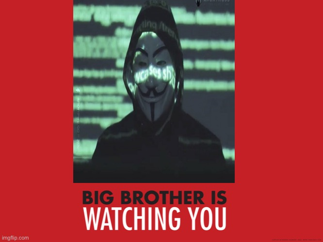 Big Brother is Watching You | image tagged in big brother is watching you | made w/ Imgflip meme maker