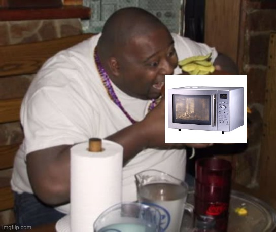 Fat guy eating burger | image tagged in fat guy eating burger | made w/ Imgflip meme maker