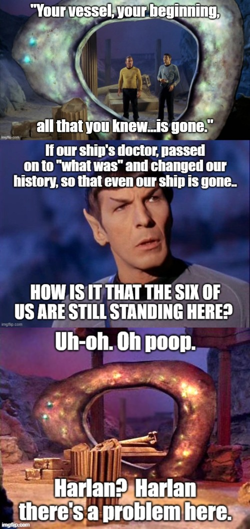 Plot hole in Star Trek OS ep | image tagged in star trek | made w/ Imgflip meme maker