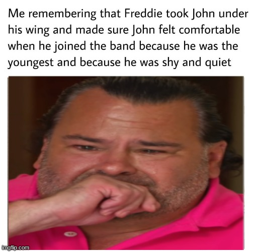I literally can't not cry thinking about it | image tagged in queen,deaky | made w/ Imgflip meme maker