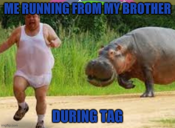 Run me run! |  ME RUNNING FROM MY BROTHER; DURING TAG | image tagged in gotta go fast | made w/ Imgflip meme maker