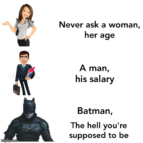 Batman meme | image tagged in dc comics | made w/ Imgflip meme maker