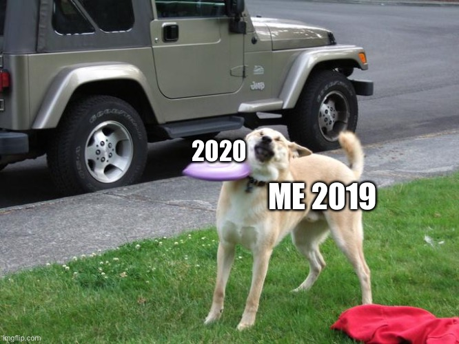 2020; ME 2019 | image tagged in rip | made w/ Imgflip meme maker