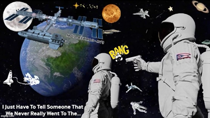Moon Meme | image tagged in moon meme,moon landing gif | made w/ Imgflip meme maker