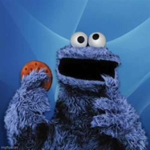 cookie monster | image tagged in cookie monster | made w/ Imgflip meme maker