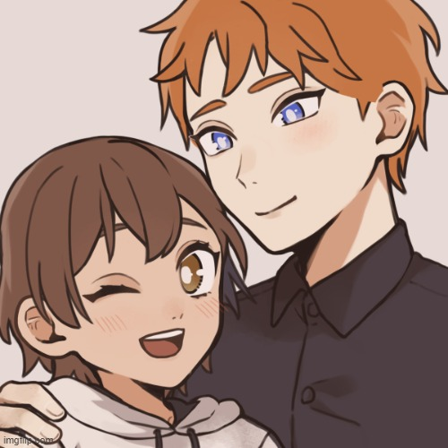 Henry x Crista! (the picrew doesn't add horns) | made w/ Imgflip meme maker