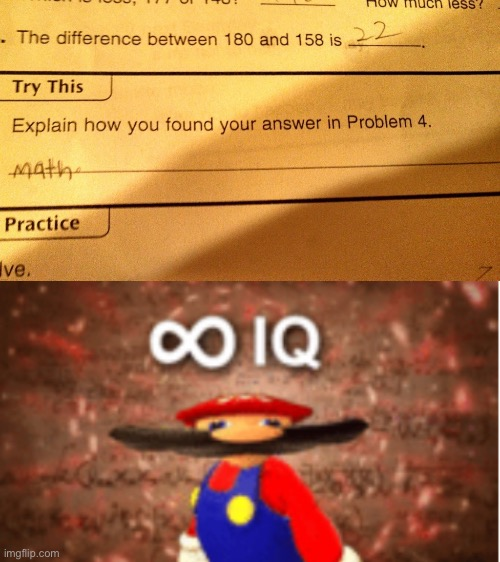 Smrt | image tagged in infinite iq,memes,funny,stupid test answers,funny test answers,test | made w/ Imgflip meme maker