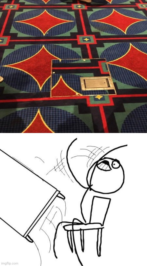 So close floor | image tagged in memes,table flip guy,floor,carpet,you had one job,meme | made w/ Imgflip meme maker
