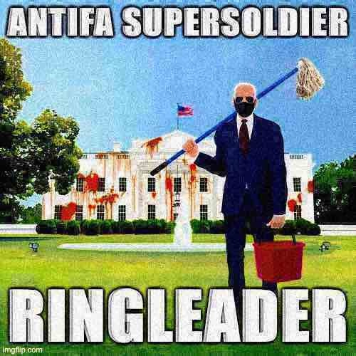 Oppose Trump? Then you're #AntifaConfirmed | image tagged in antifa supersoldier ringleader deep-fried 2 | made w/ Imgflip meme maker