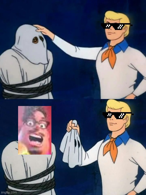And the culprit is... | image tagged in scooby doo mask reveal,grubhub,scooby doo,scooby doo the ghost | made w/ Imgflip meme maker
