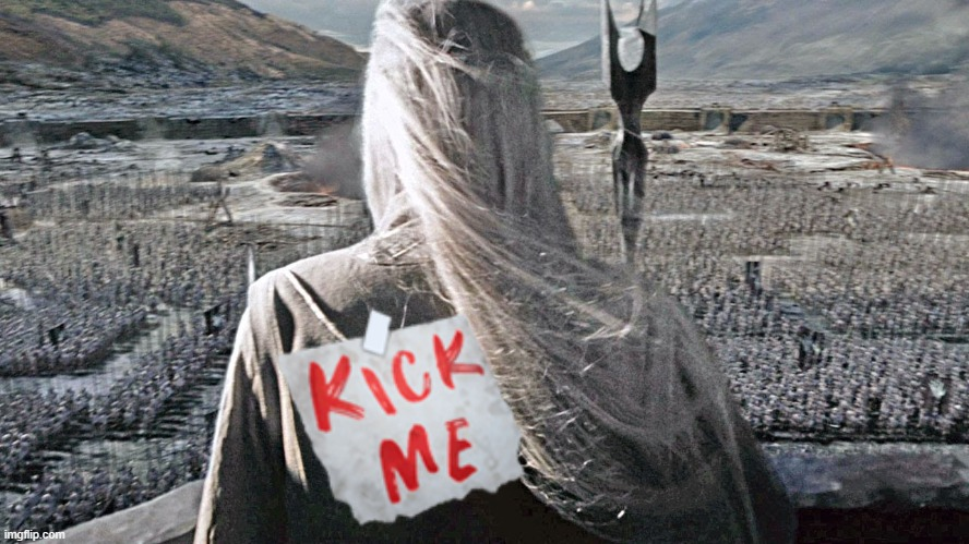 Saruman and Uruk-hai | image tagged in saruman,lord of the rings | made w/ Imgflip meme maker