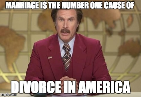Funny Memes Marriage : A breaking news announcement! for those thinking of getting married
