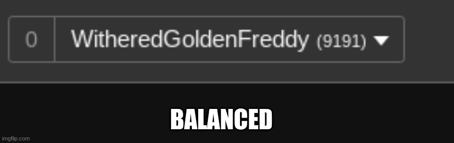 BALANCED | made w/ Imgflip meme maker