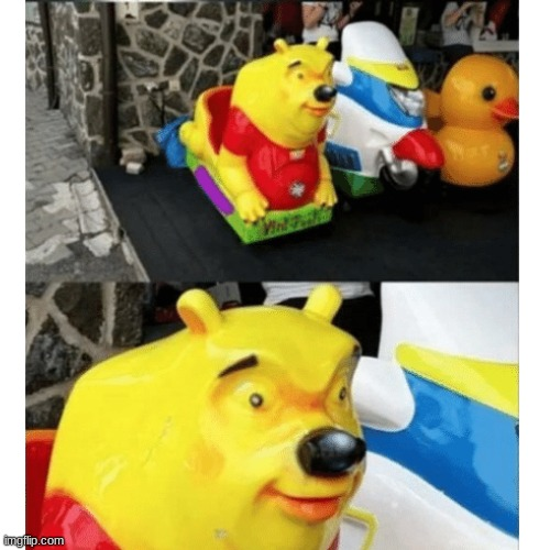 winnie the pooh | image tagged in winnie the pooh,wierd,lol,memes,cursed | made w/ Imgflip meme maker