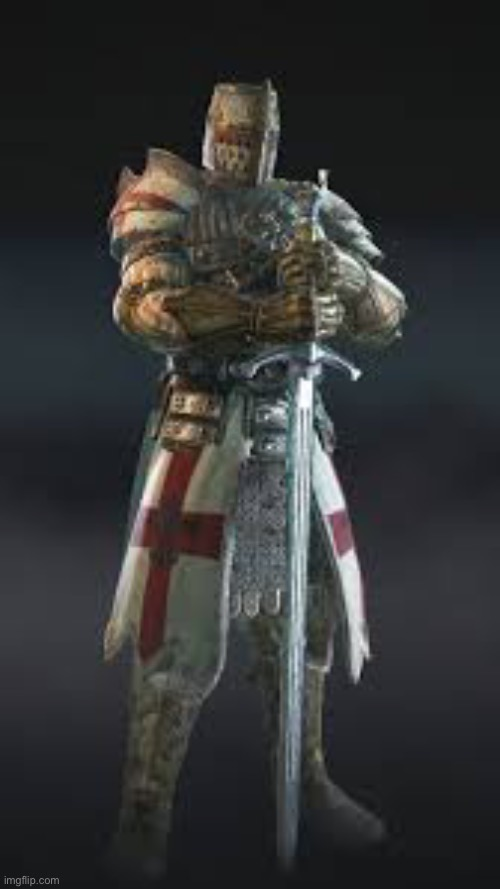 Crusader for honor | image tagged in crusader for honor | made w/ Imgflip meme maker