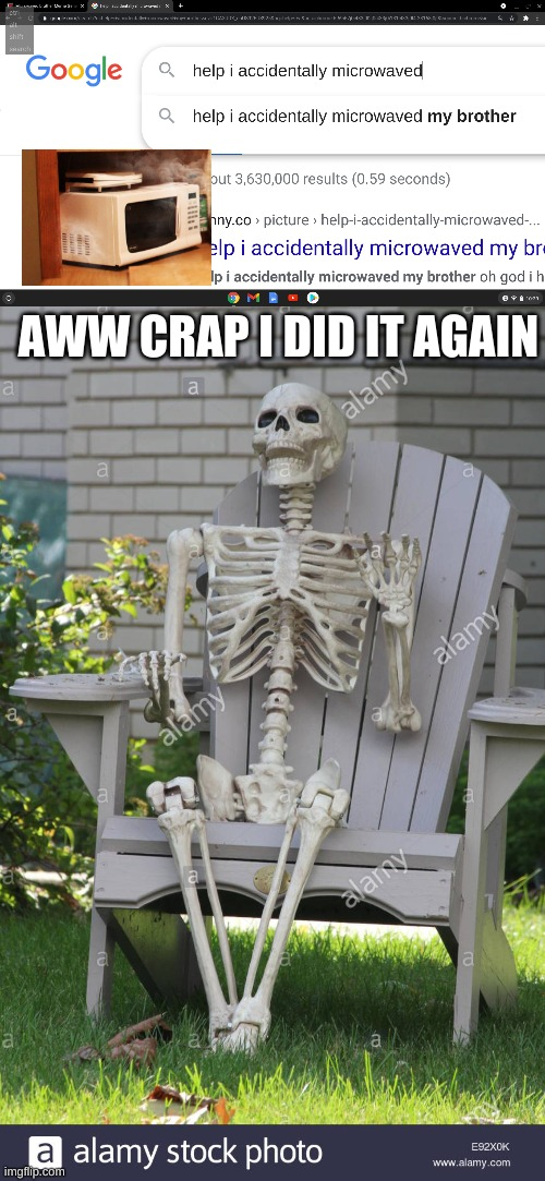 AWW CRAP I DID IT AGAIN | image tagged in one does not simply | made w/ Imgflip meme maker