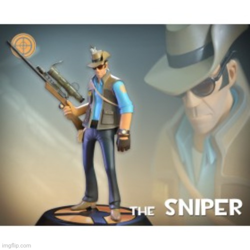 image tagged in the sniper tf2 meme | made w/ Imgflip meme maker