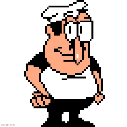 Peppino Peter Taunt | image tagged in peppino peter taunt | made w/ Imgflip meme maker