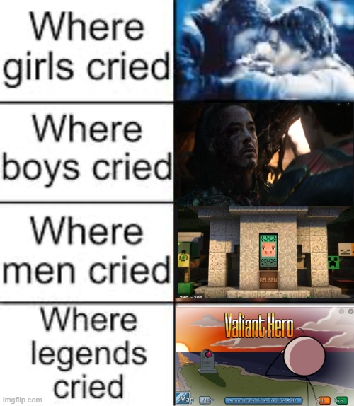 This meme made me cry. | image tagged in where legends cried | made w/ Imgflip meme maker