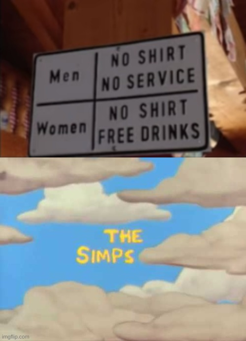 Simps, am I right? | image tagged in the simps | made w/ Imgflip meme maker