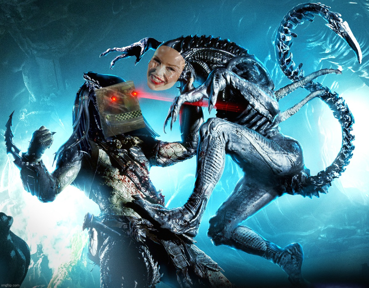 Alien vs Predator | image tagged in alien vs predator | made w/ Imgflip meme maker